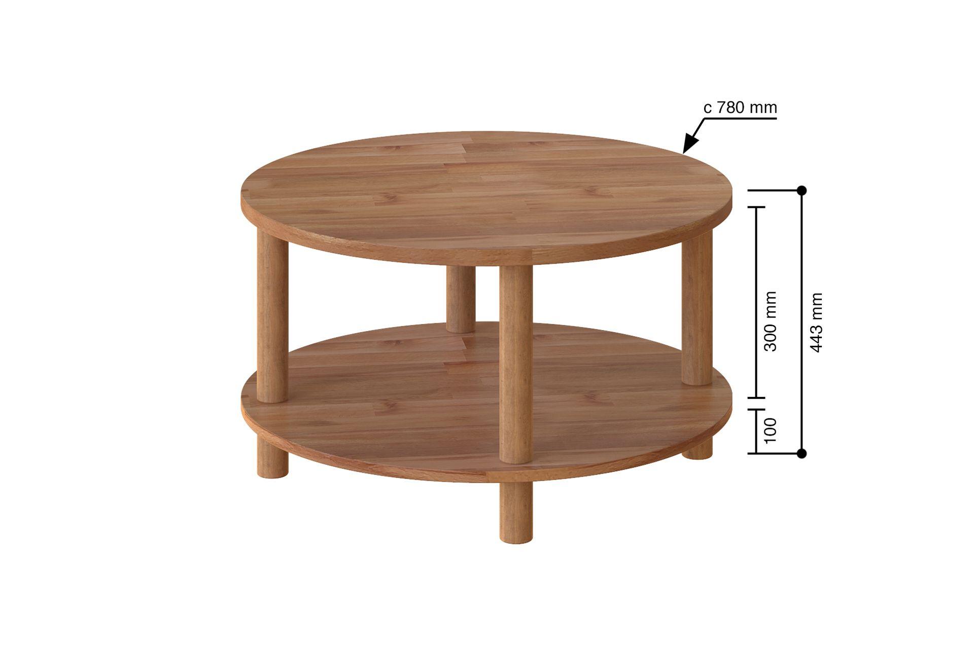 Maya Round Coffee Table (Large)