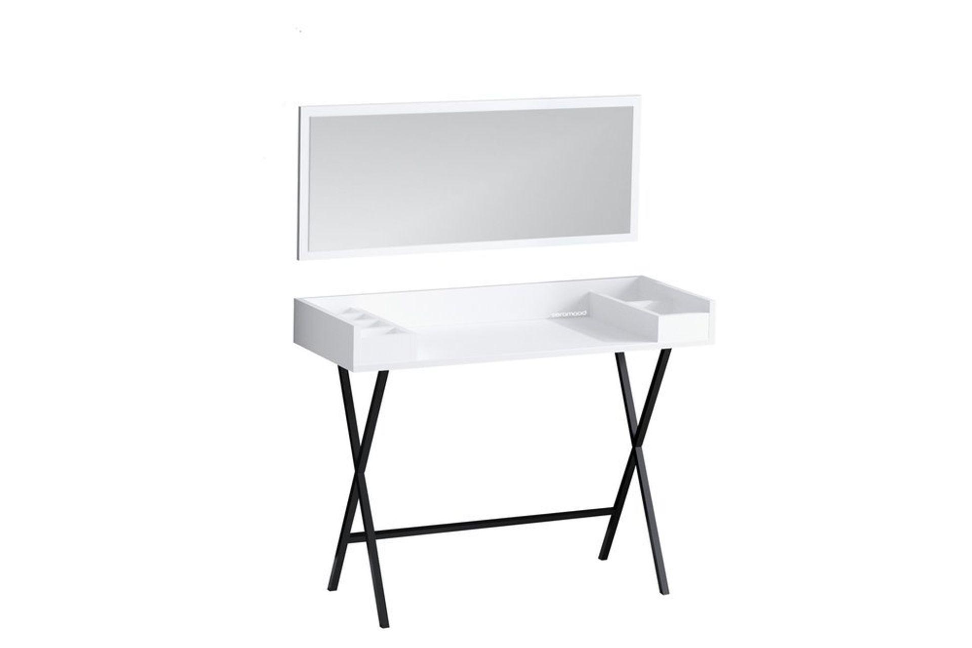 Sera Pari Dressing Table, White