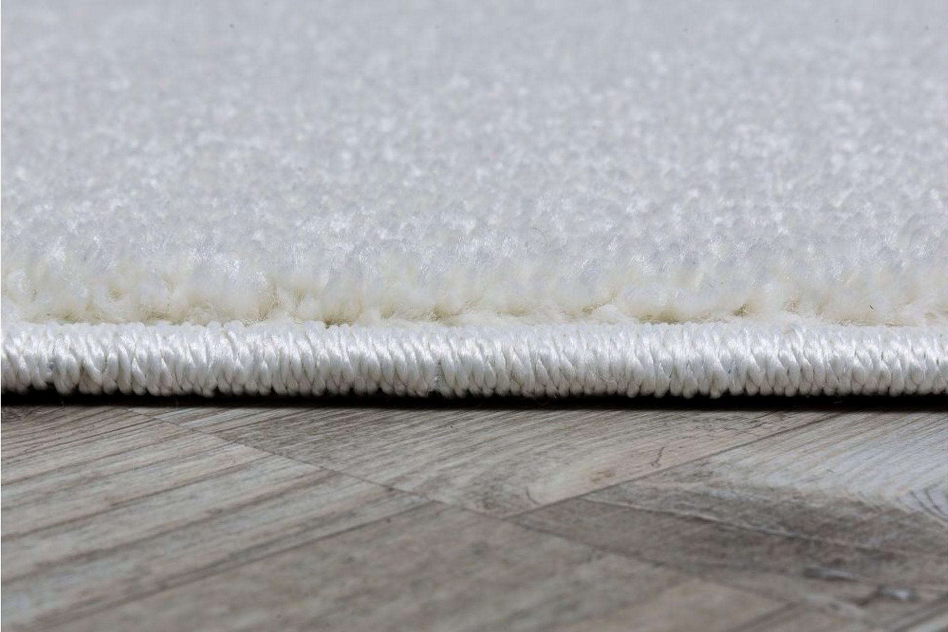 Essence Minimalist Woven Rug, 80 x 300, White