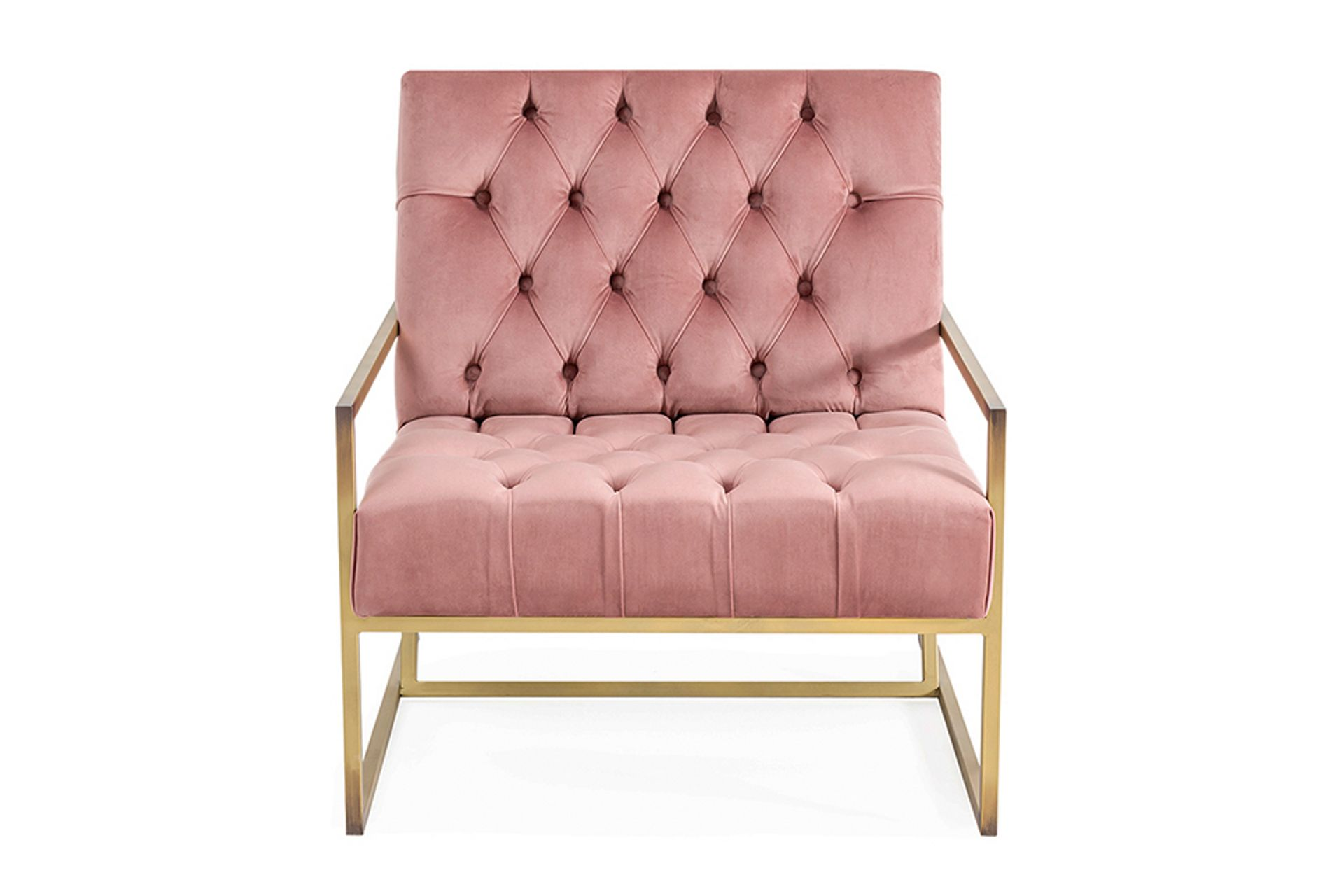Eliza Armchair, Dusty Rose