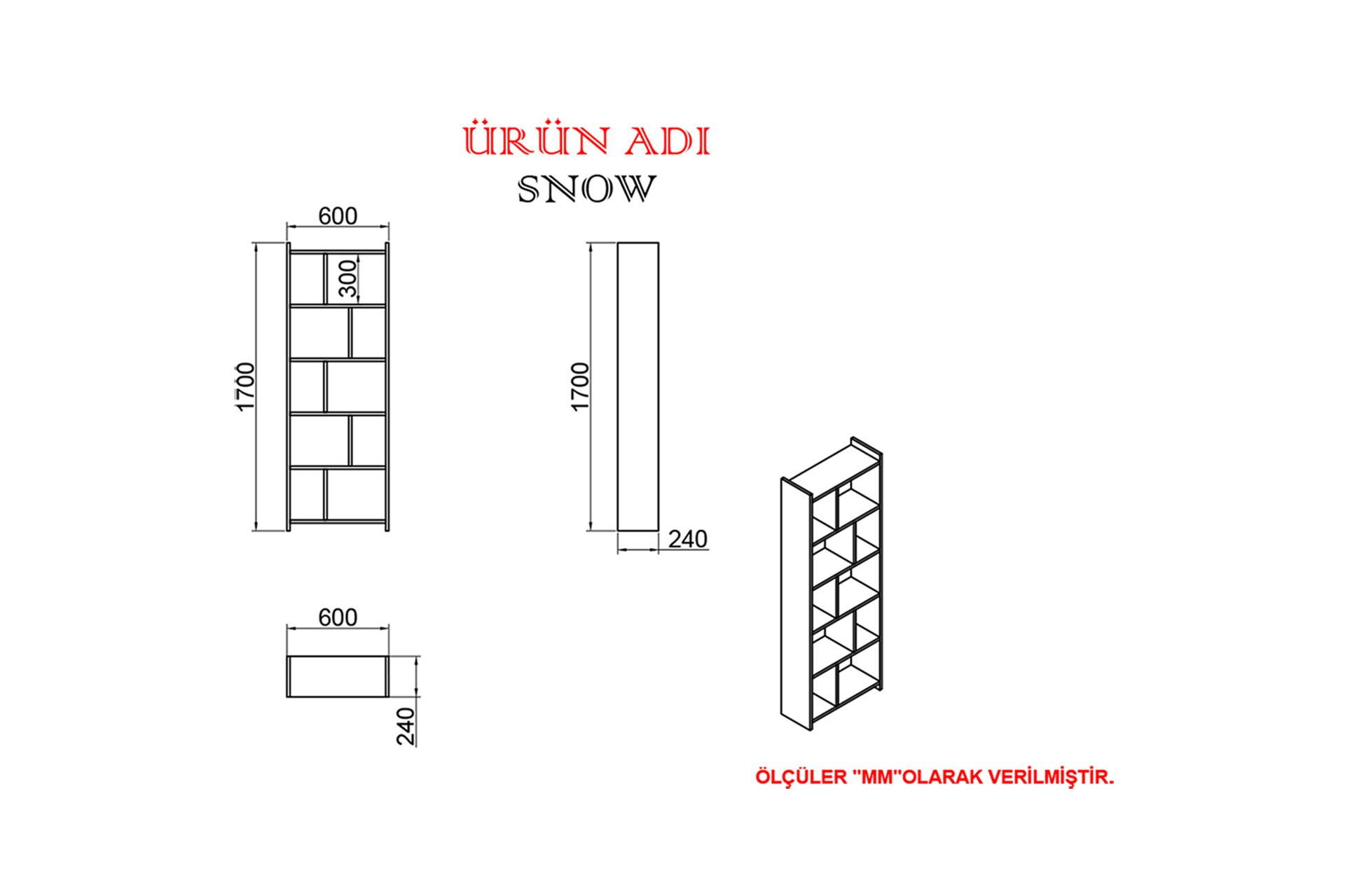 KALENDER DEKOR AVEL-TWİNS SNOW 145 CM ÇALIŞMA MASASI TAKIMI AVTS04