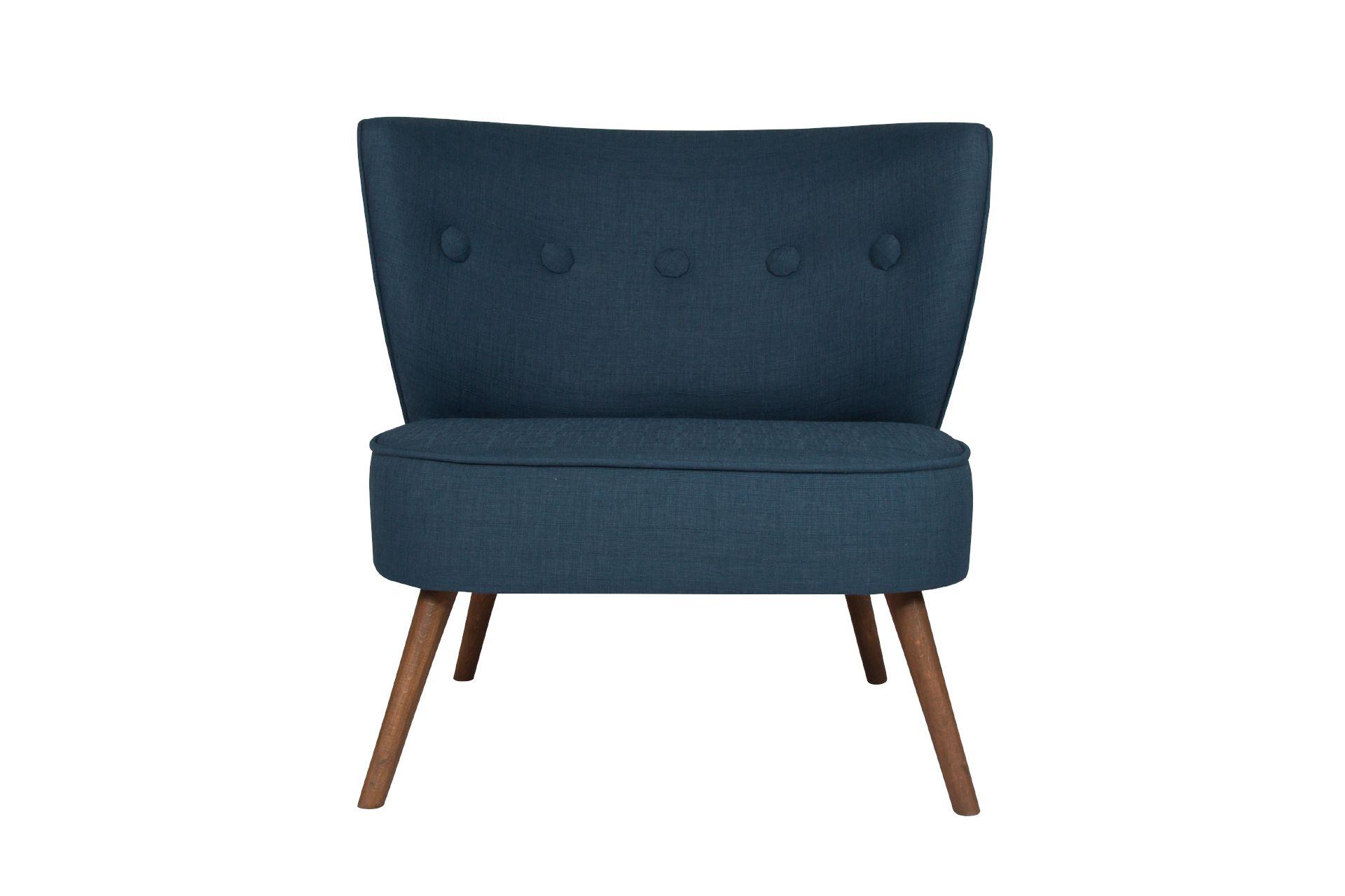 Bienville Armchair, Night Blue