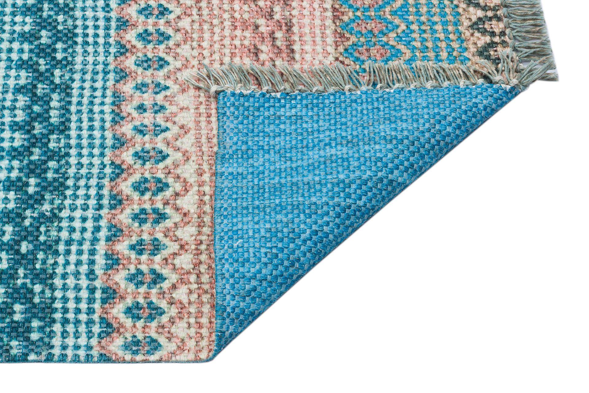 MARİNE MR 04 BLUE ÇİFT TARAFLI BASKI KİLİM 80x300
