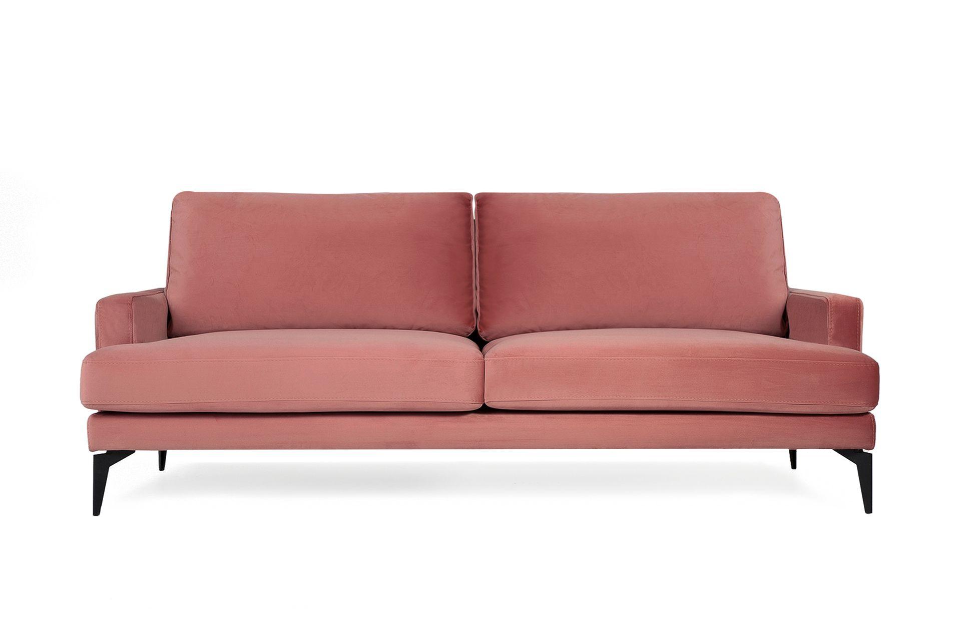 Matilda Three Seater Sofa, Dusty Rose