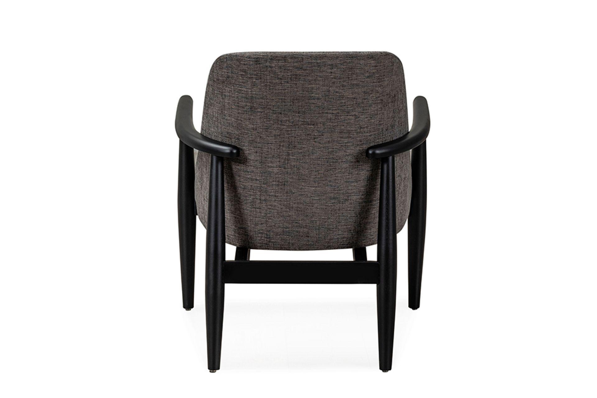 Tera Beech Armchair, Grey