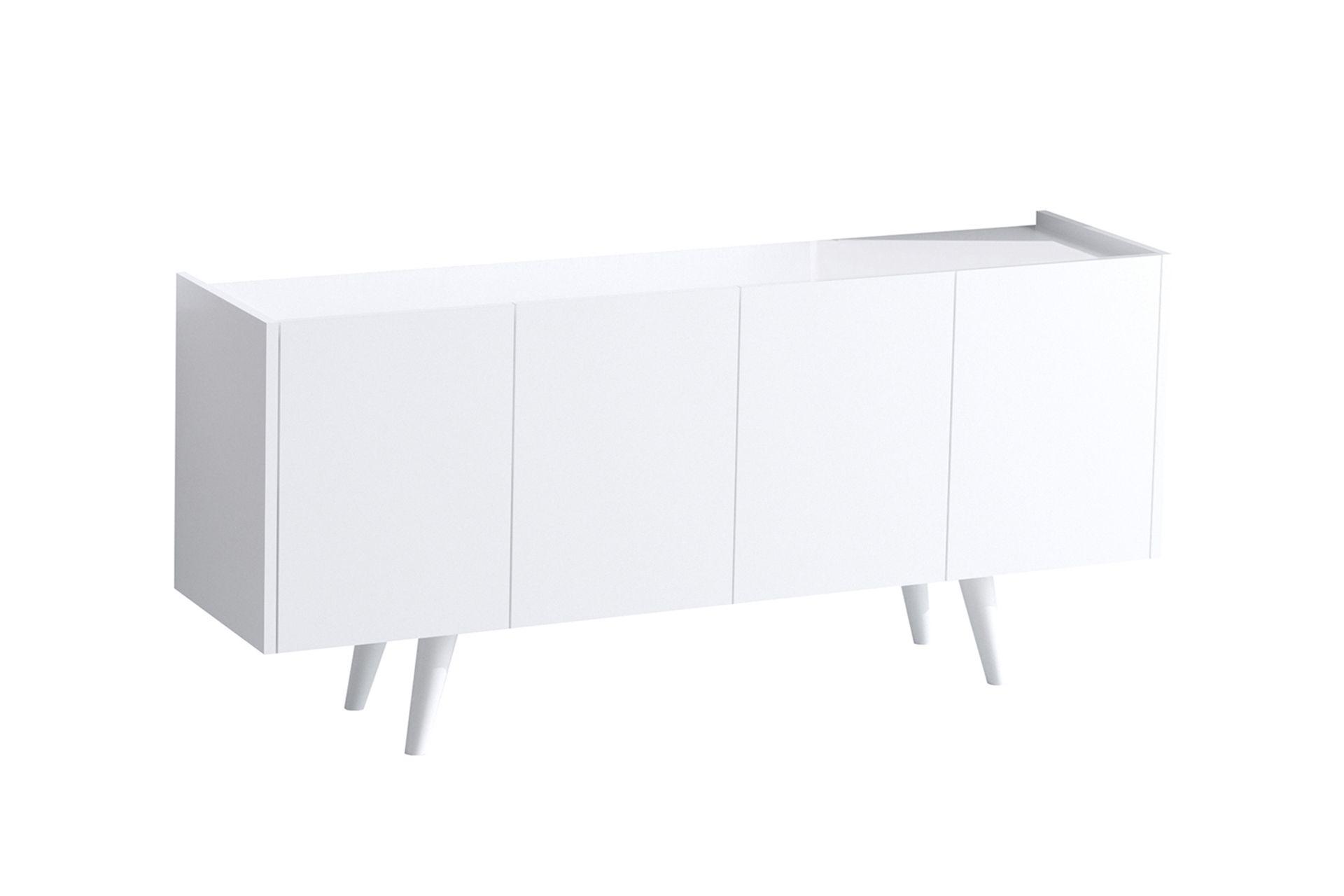 Sera Wide Console, (White)