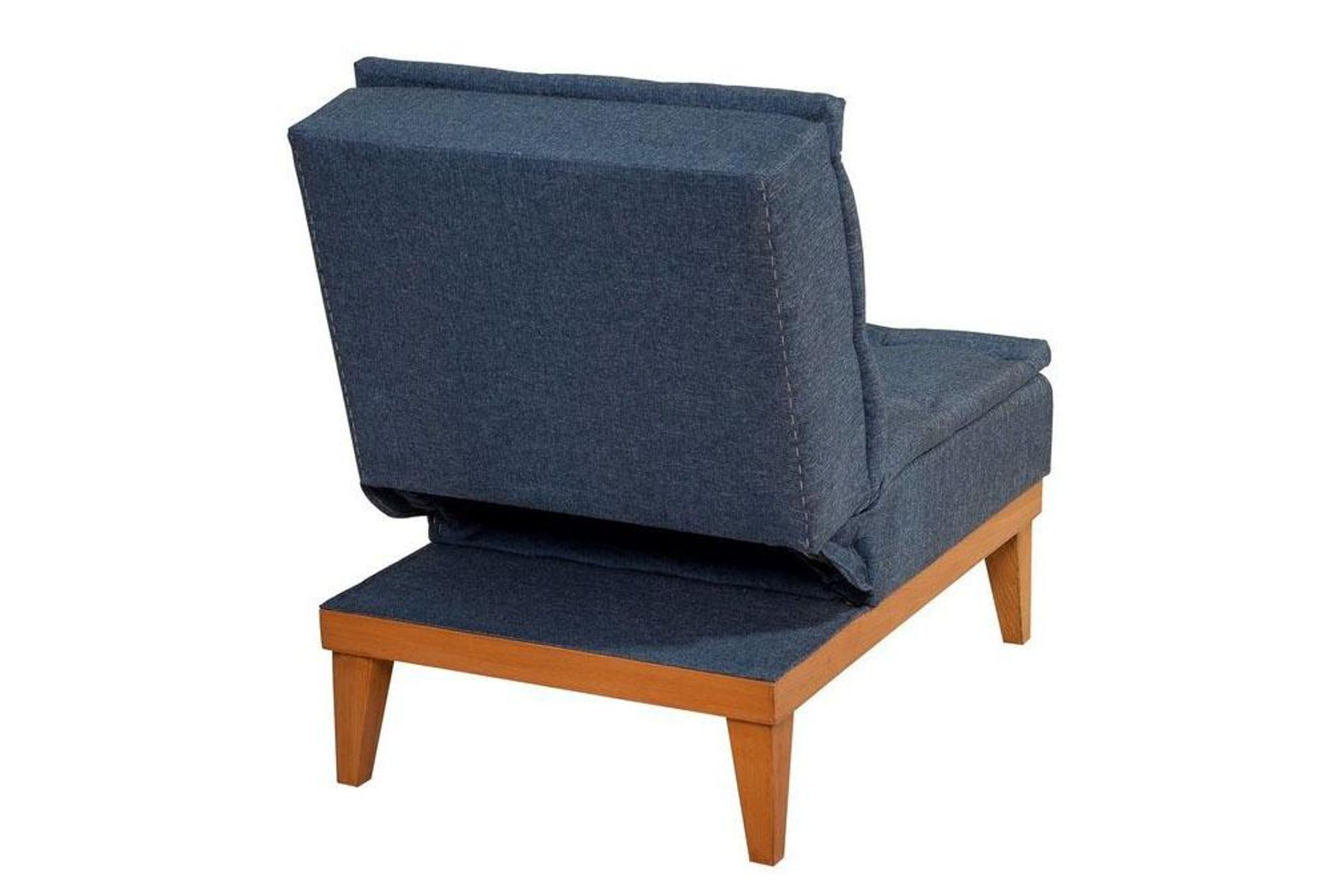 Fuoco Armchair Bed, Navy Blue