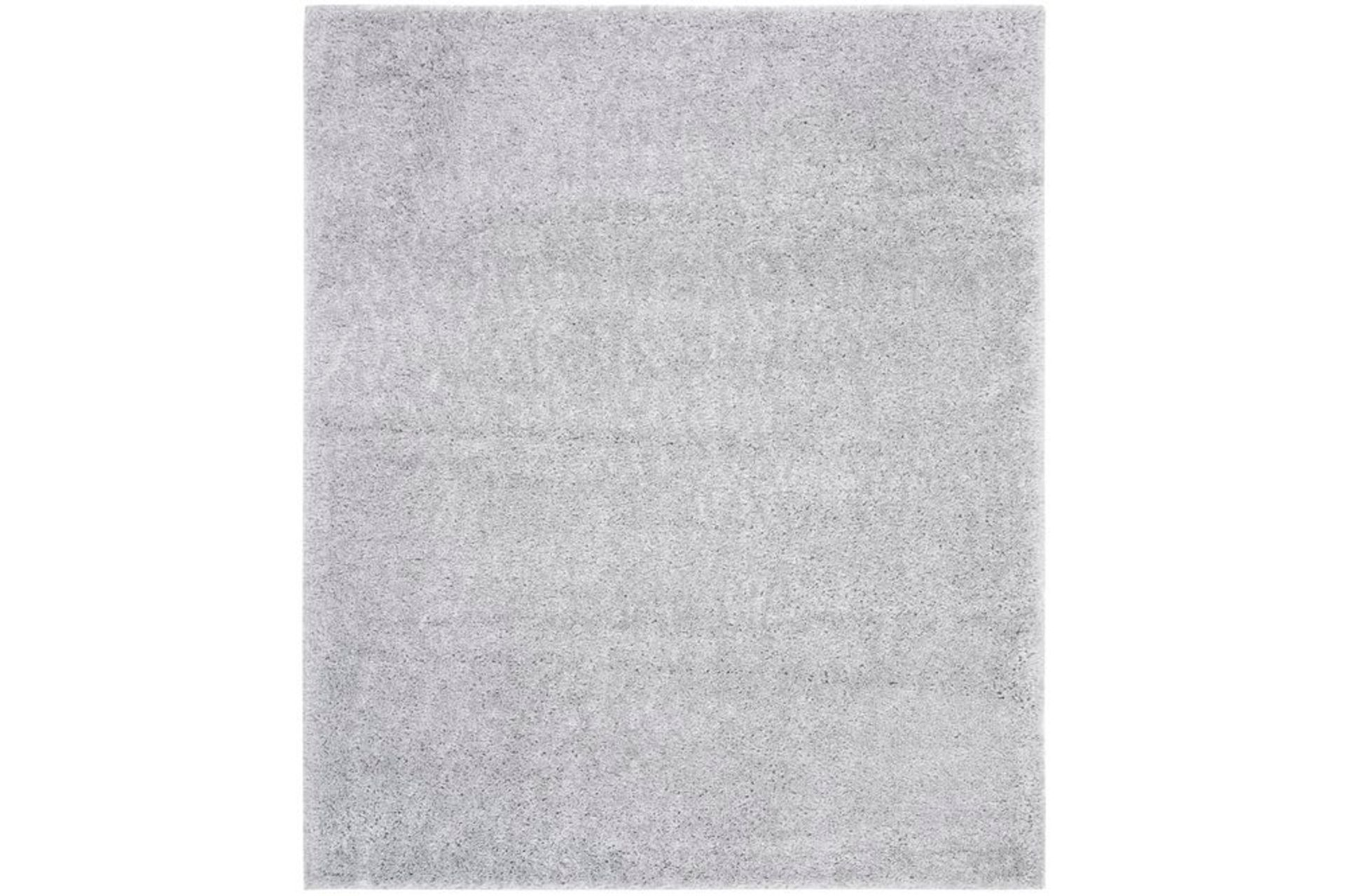 Ava Minimalist Woven Rug, 80 x 150, Grey
