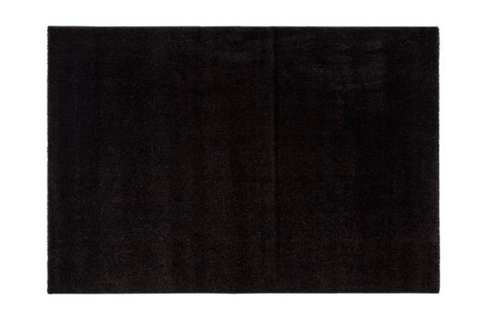 Essence Minimalist Woven Rug, 80 x 300, Black
