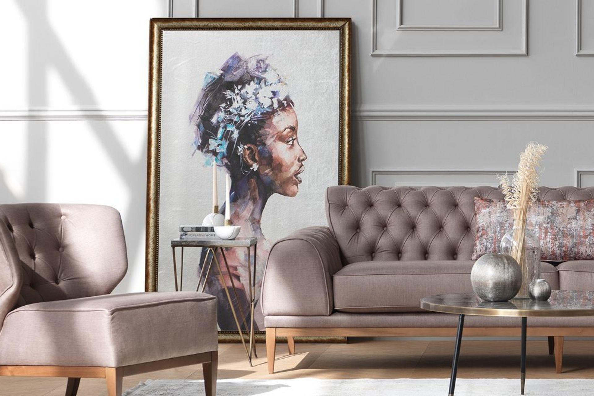 Queen Art Print with Frame, Medium