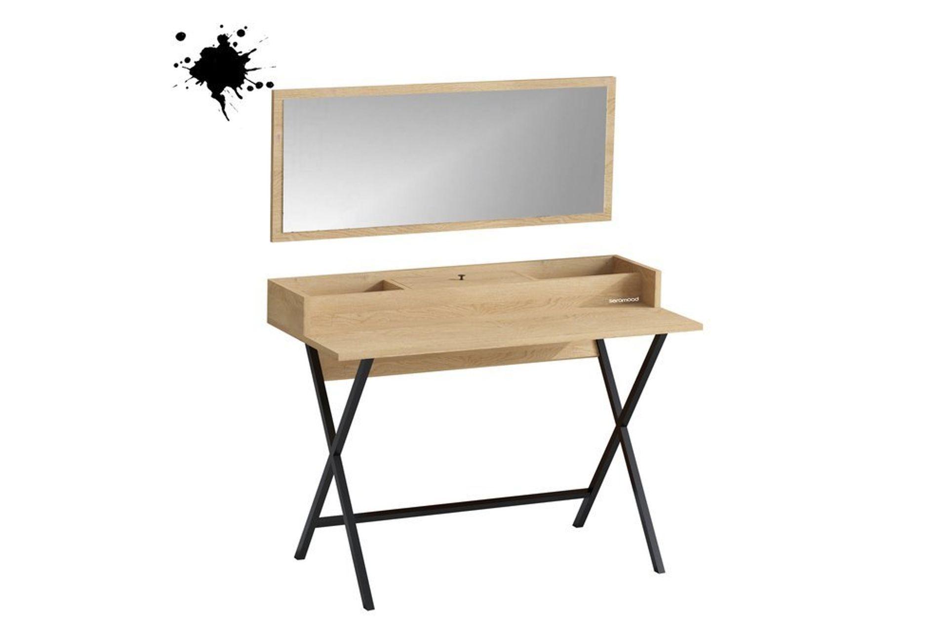 Sera Sim Dressing Table, Oak