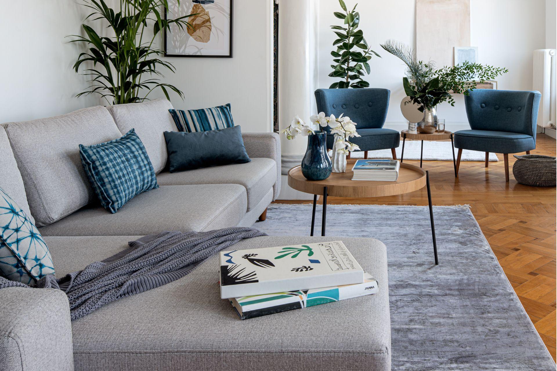 Merlin Corner Sofa, Grey (Left)