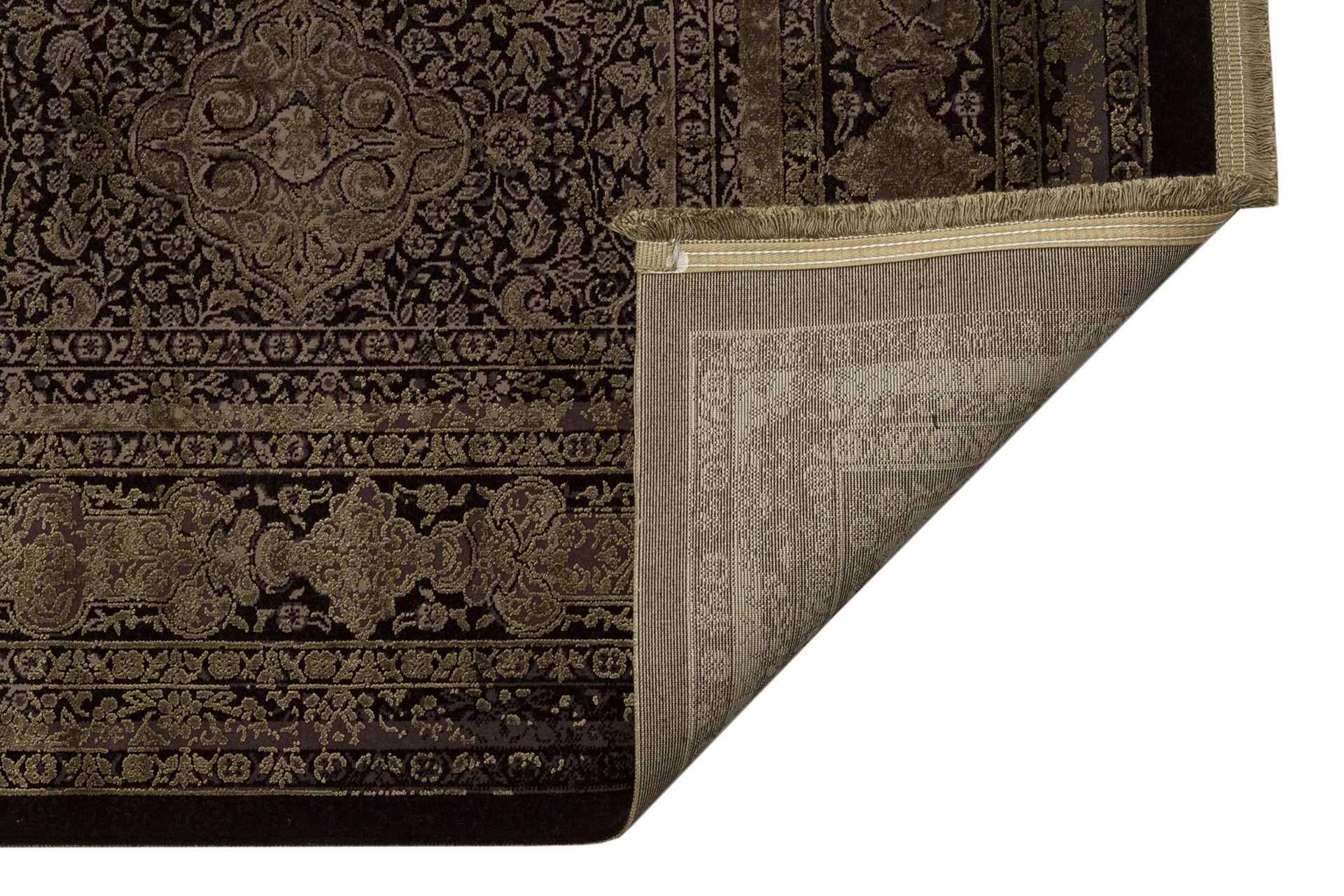 ANADOLU AD 02 ANTRASİT YEŞİL KLASİK DESENLİ SALON HALISI 300x400