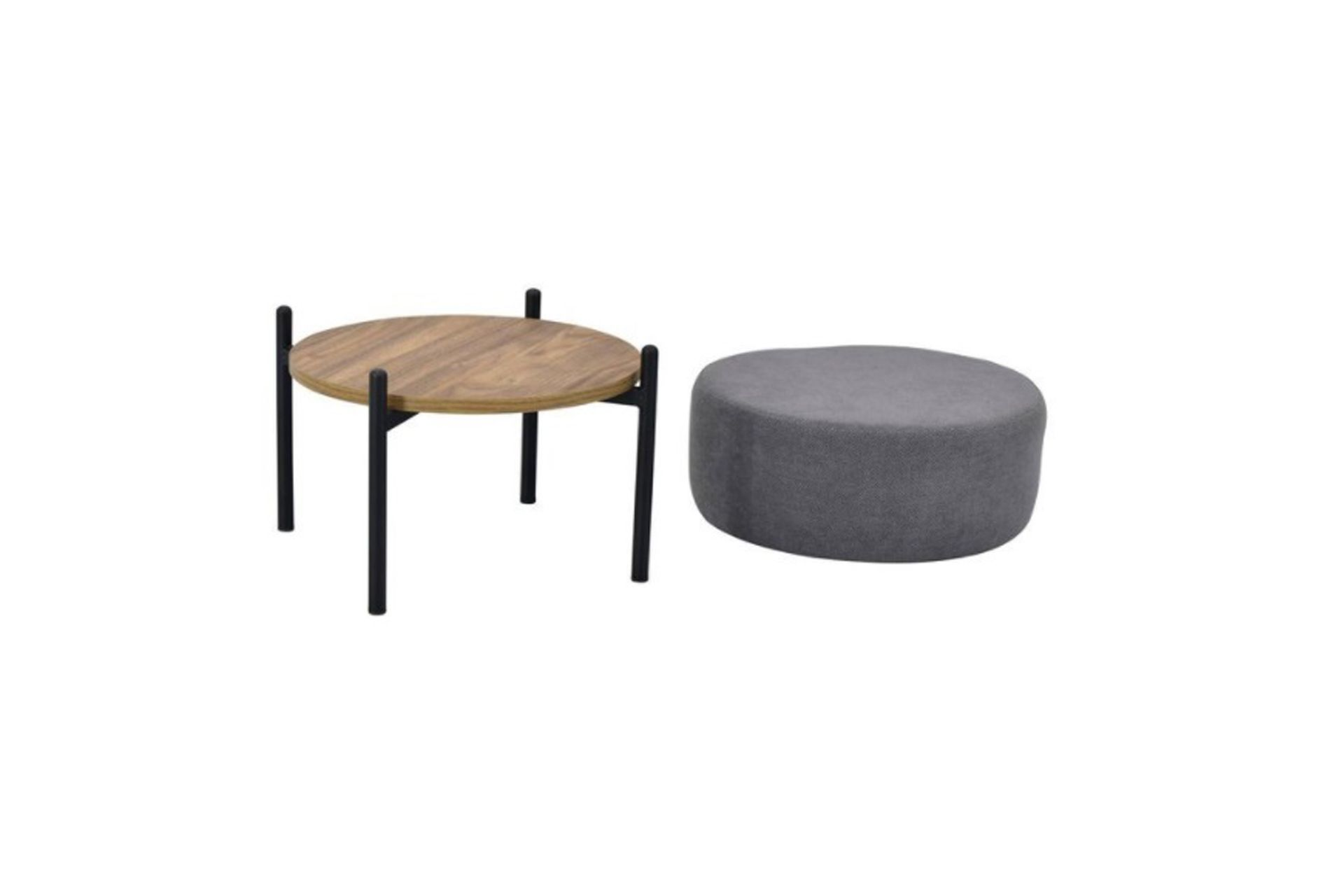 Otto Multifunctional Footstool, Grey