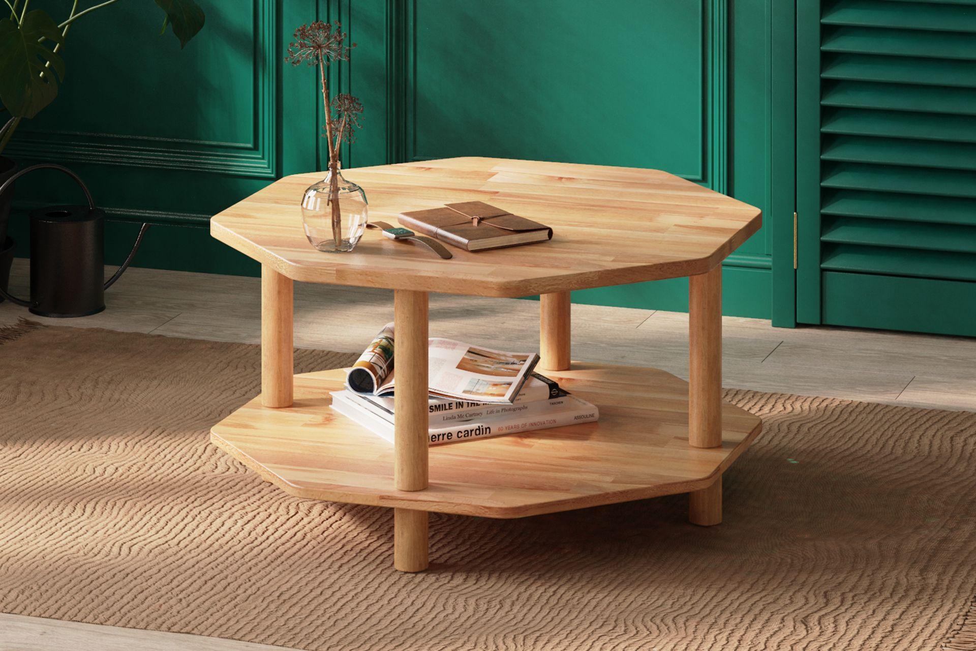 Maya Octagon Coffee Table (Large)