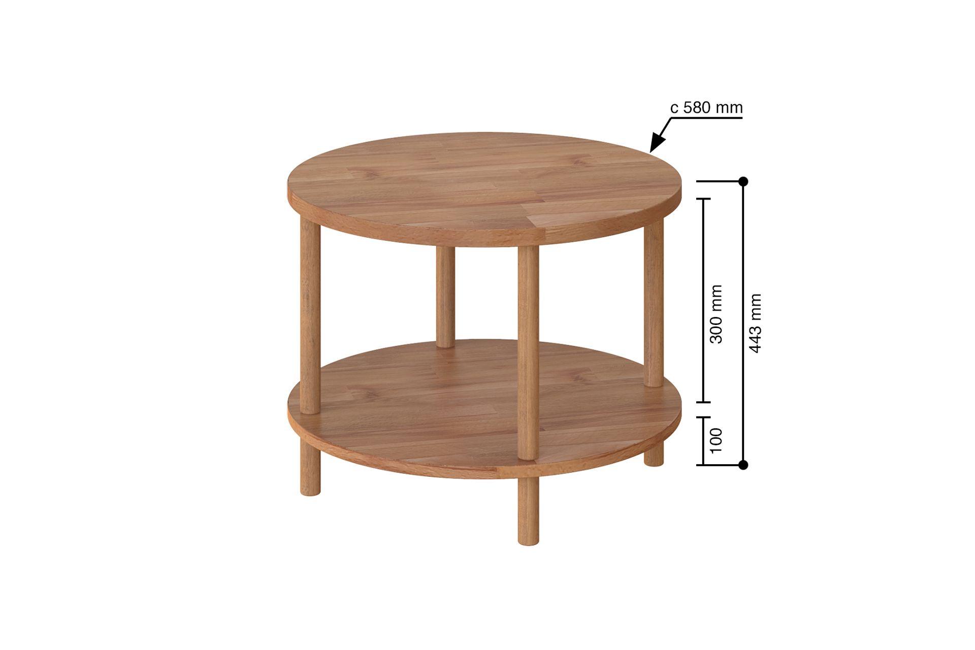 Maya Round Coffee Table (Medium)