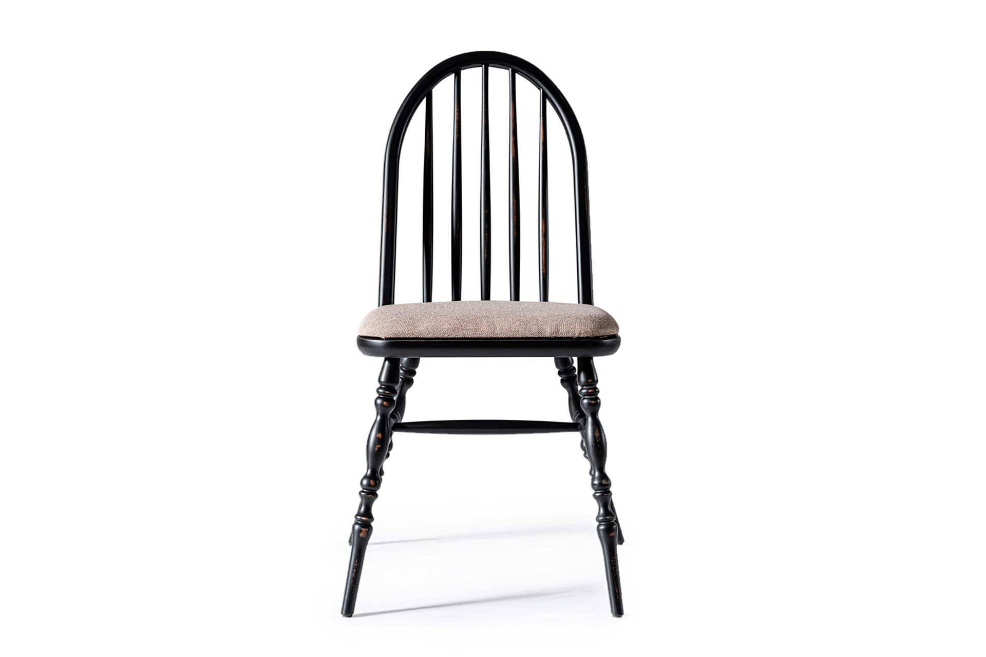 Laura Natural Chair, Black