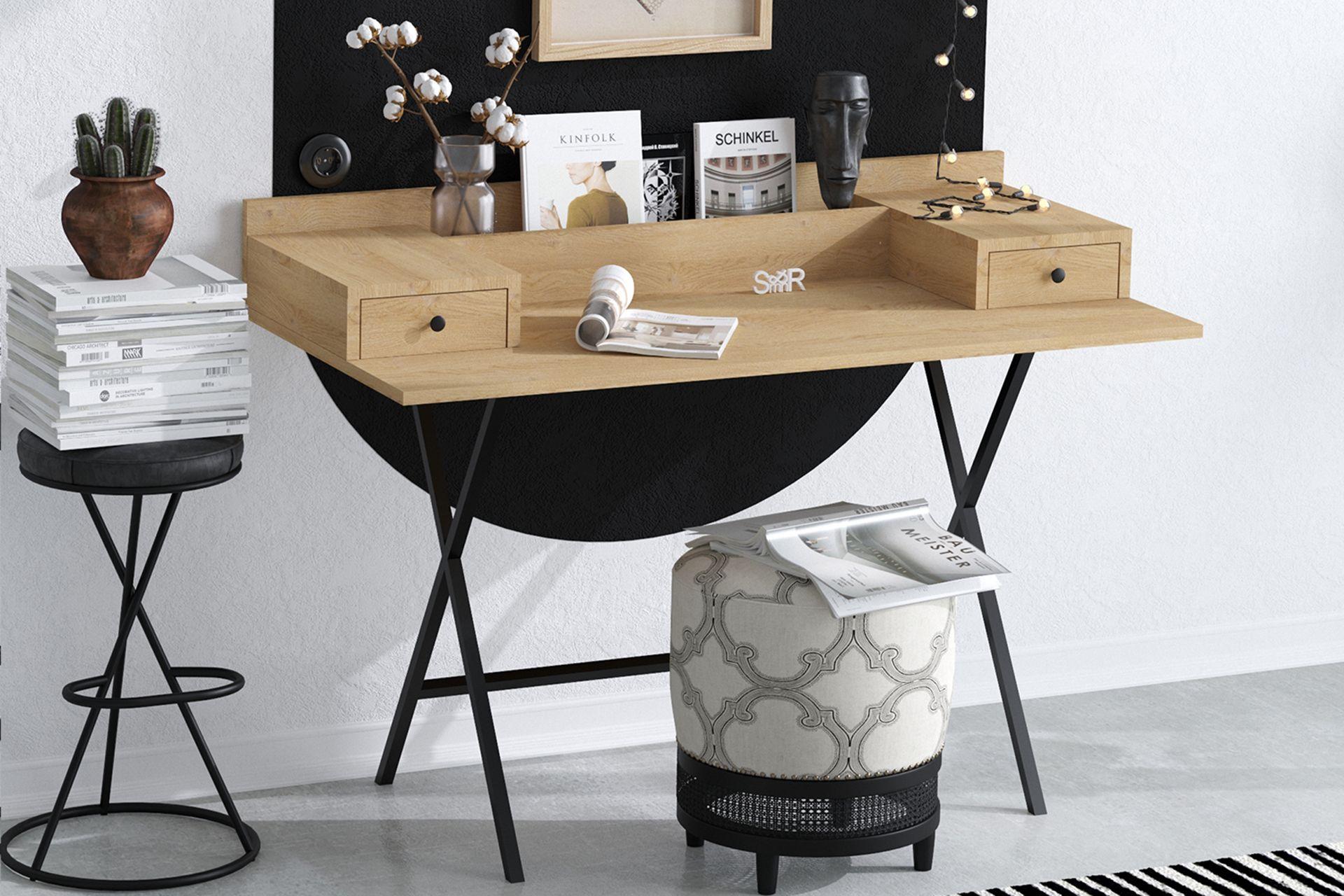 Sera Fiya Study Table (Oak)