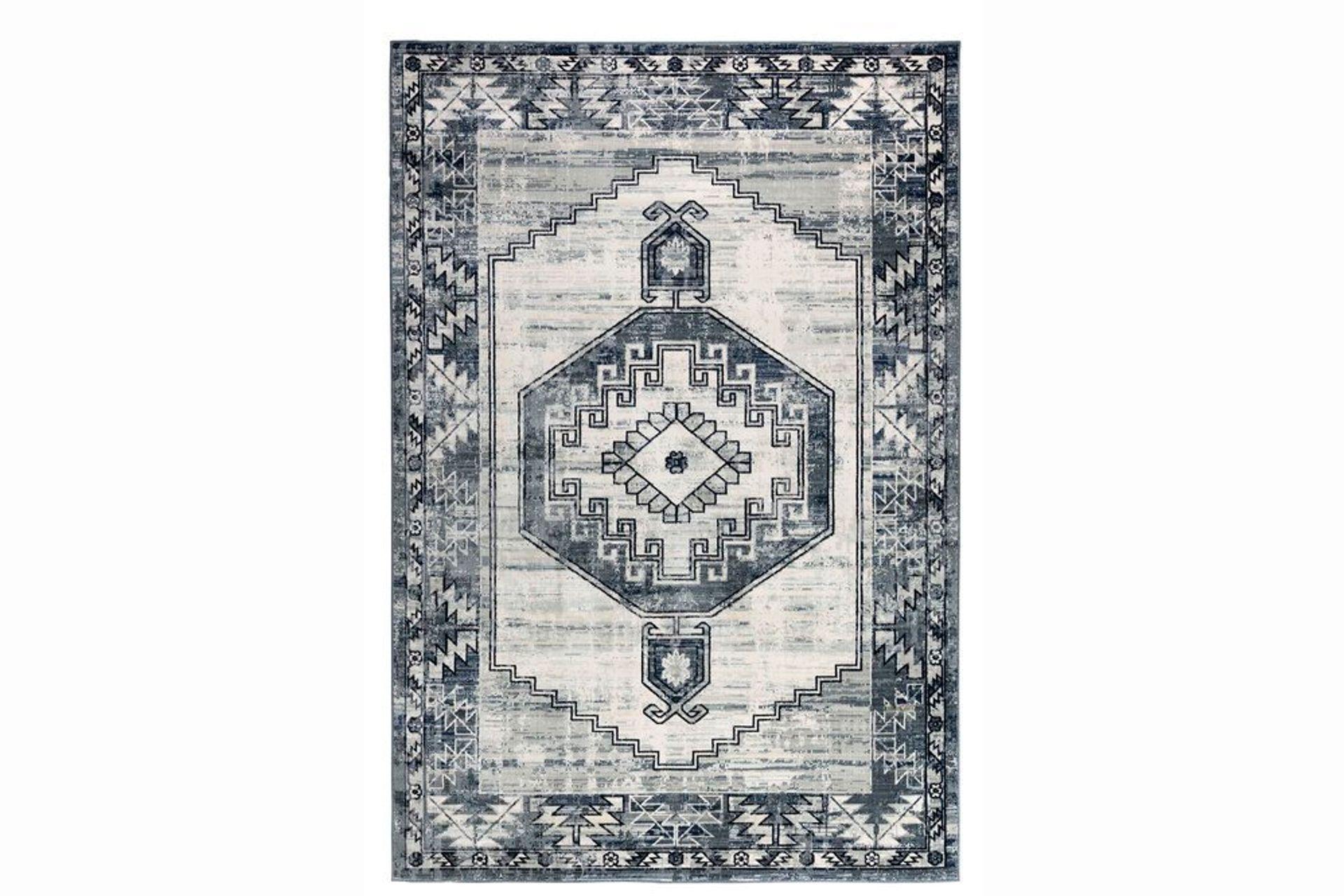Felix Antique Woven Rug, 120 x 180, Grey