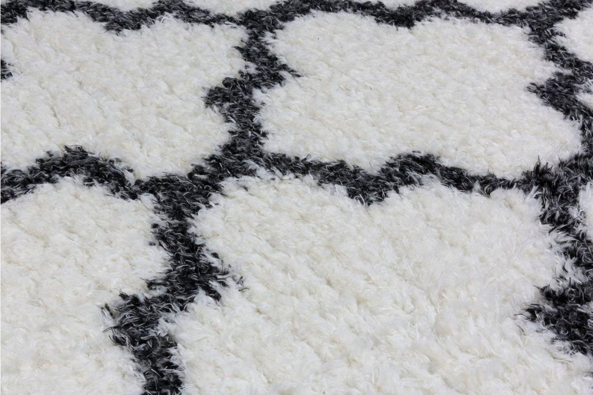 Marrakesh Scandi Rug, White (Medium)
