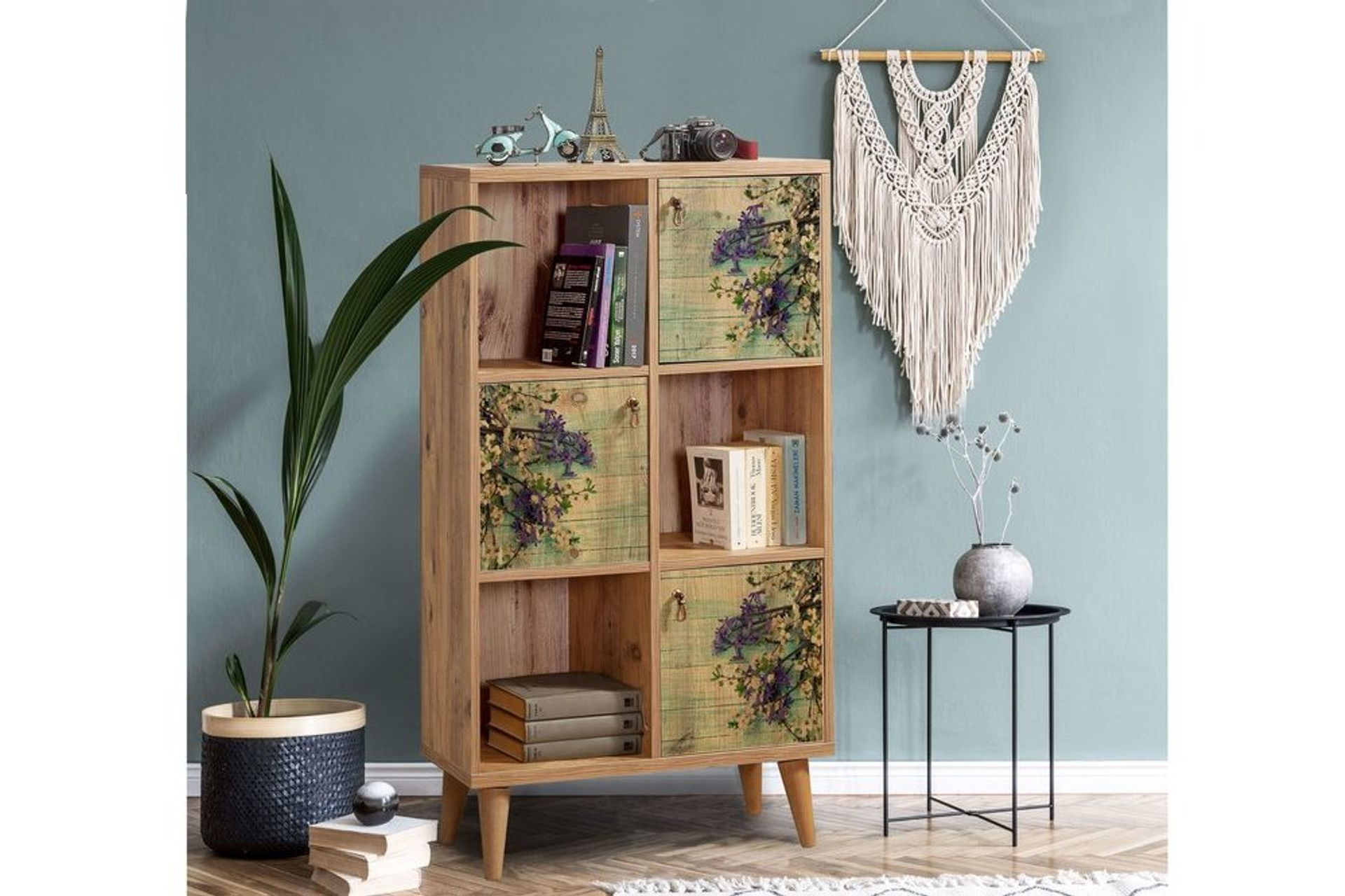 Motto Bookcase, Forest Green