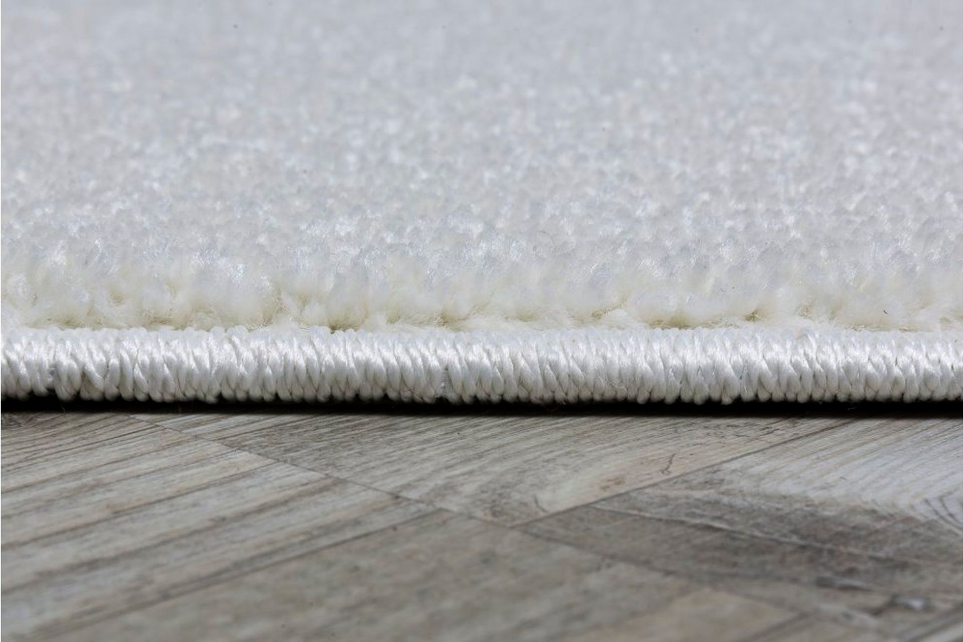 Essence Minimalist Woven Rug, 200 x 290, White