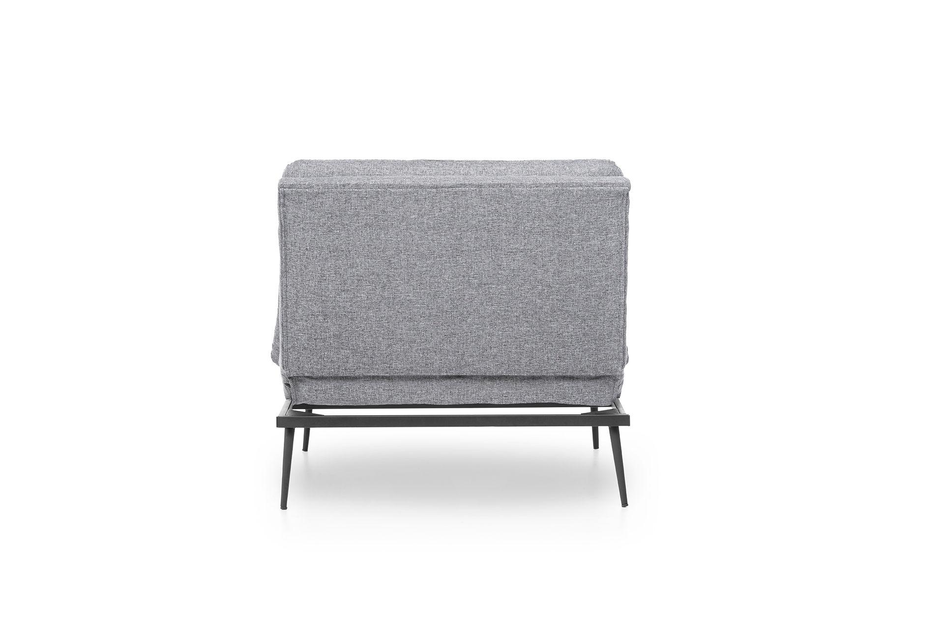 Futon Martin Chair Bed, Grey