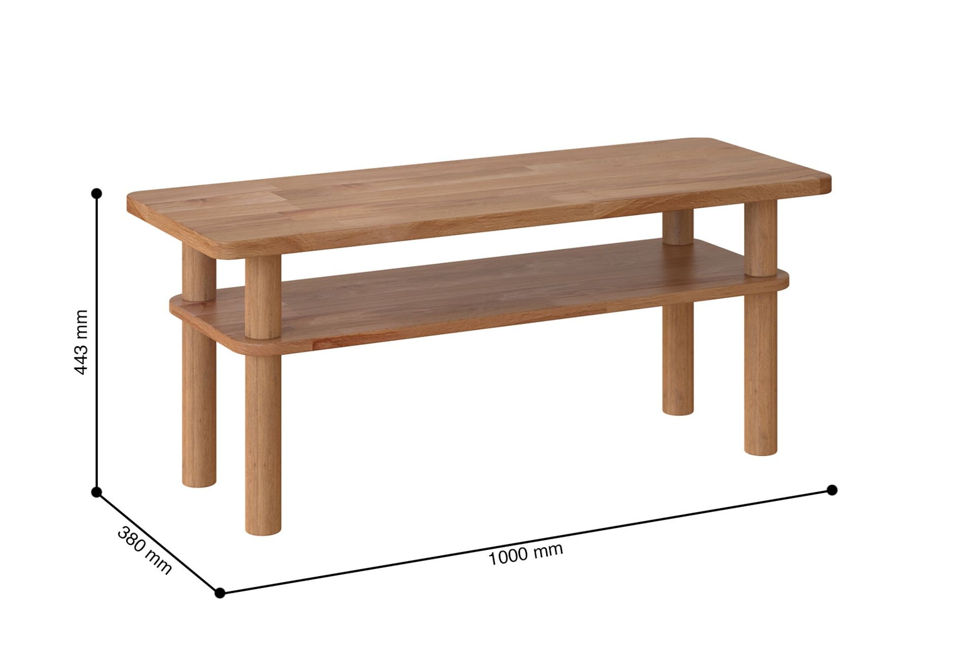 Maya Kave Coffee Table (Medium)