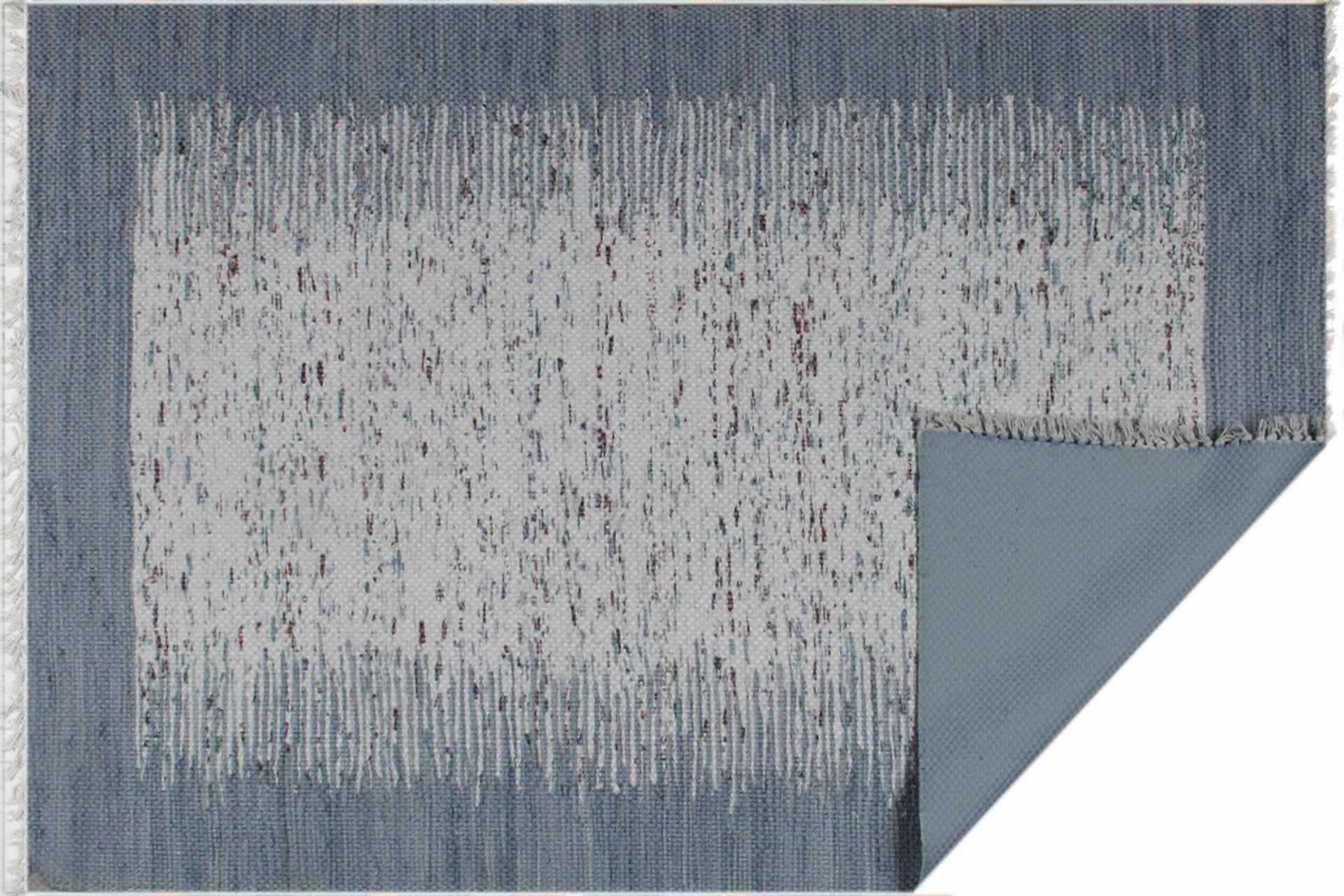 MARİNE MR 01 COOL BLUE ÇİFT TARAFLI BASKI KİLİM 80x150