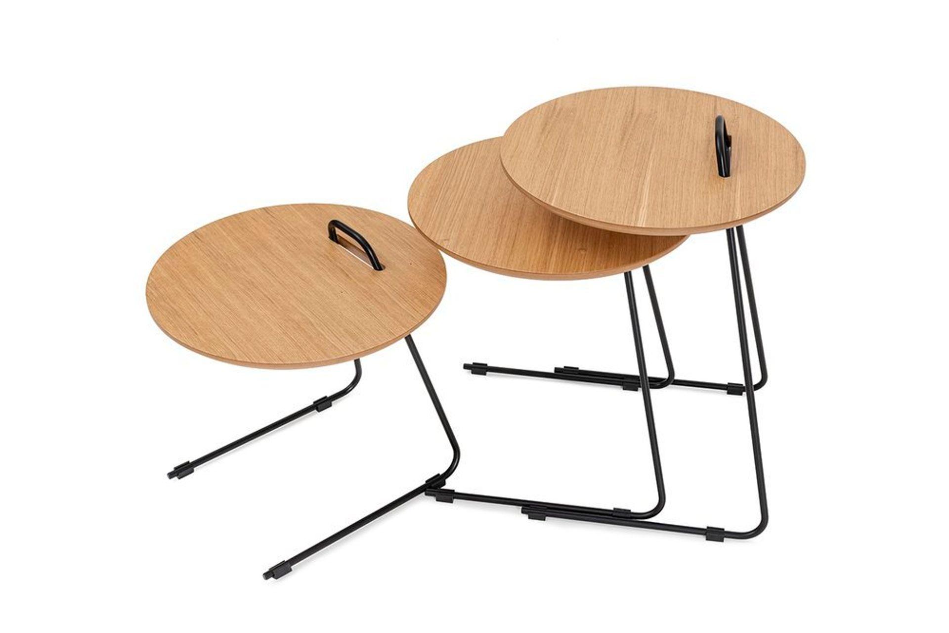 Metis Three Piece Side Table Set