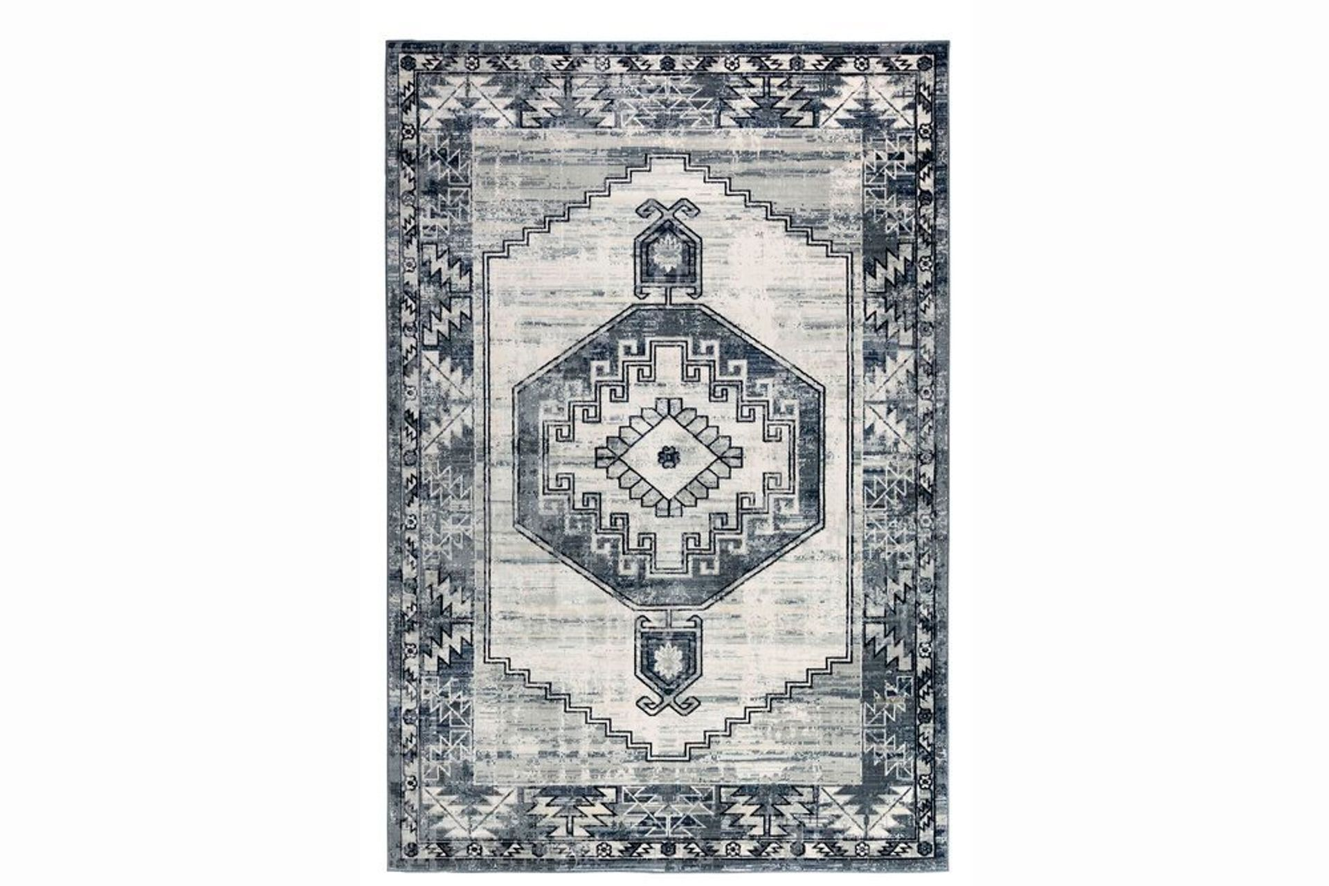 Felix Antique Woven Rug, 160 x 230, Grey