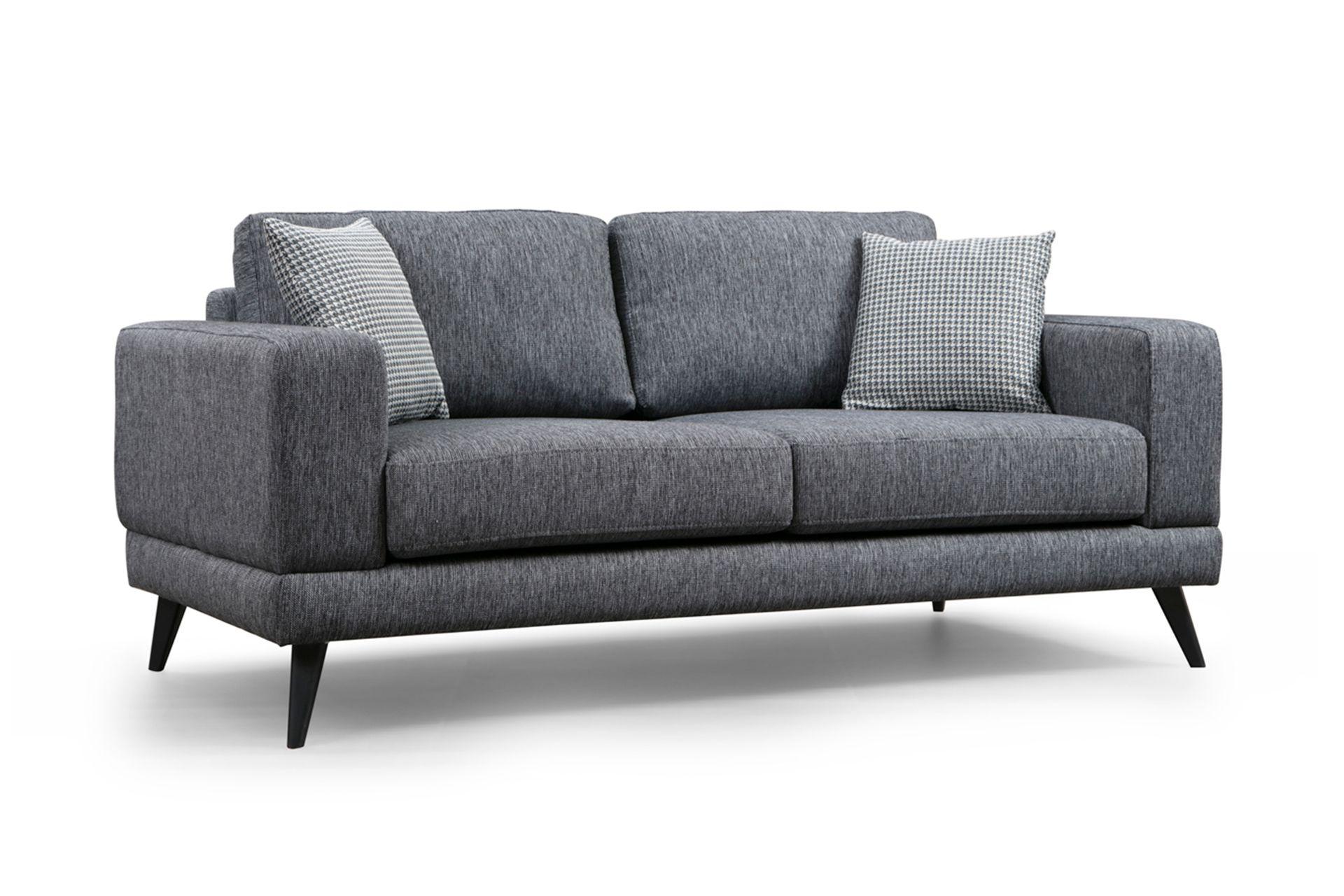 Sorti Three Seater Sofa Bed, Grey