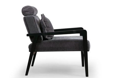 Soho Armchair, Anthracite Grey