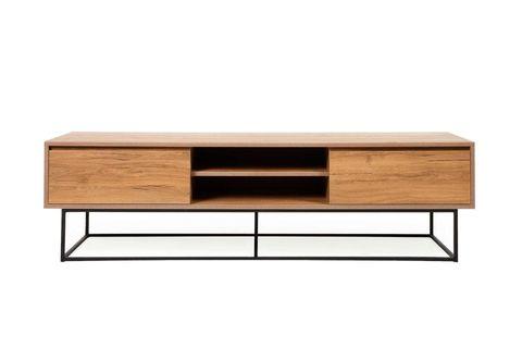 Laxus Wide TV Unit, Wood