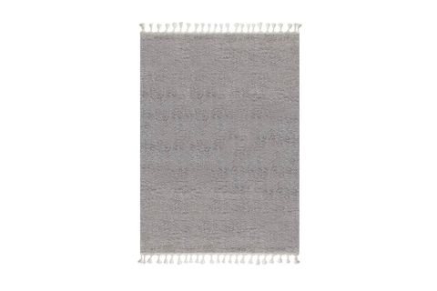 Marrakesh Shaggy Rug, Grey (Large)