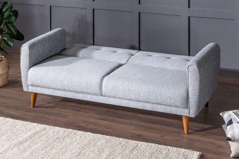 Aria Three Seater Sofa Bed, Grey