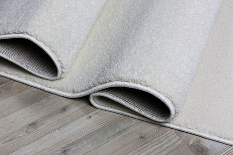 Essence Minimalist Woven Rug, 160 x 230, White