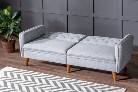 Terra Three Seater Sofa Bed, Grey
