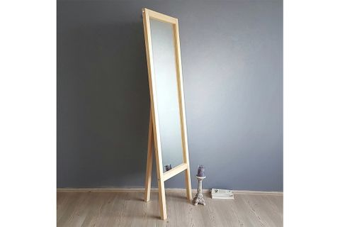 Easel Mirror, Oak