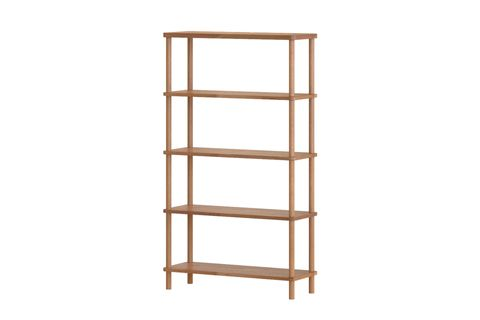 Maya Classic 5 Shelf Bookcase, (Large)