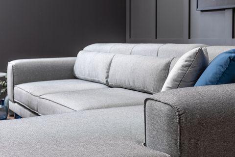 Jivago Corner Sofa, Grey (Right)