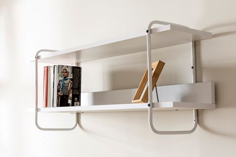 Loft Home Wall Mount Shelf, White
