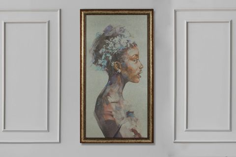 Queen Art Print with Frame, Large