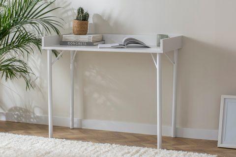 Loft Home Desk, White