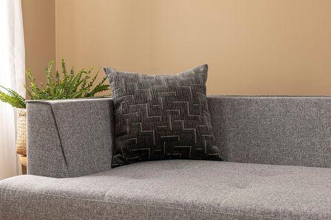 Githa Cushion Cover, 45x45 cm, Grey