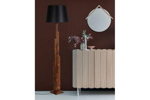 Tower Floor Lamp, Black