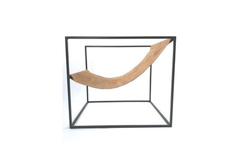 Sohomanje Cubic Armchair, Natural & Black
