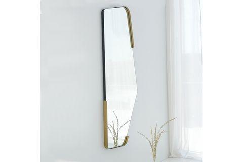 Irregular Mirror, Gold