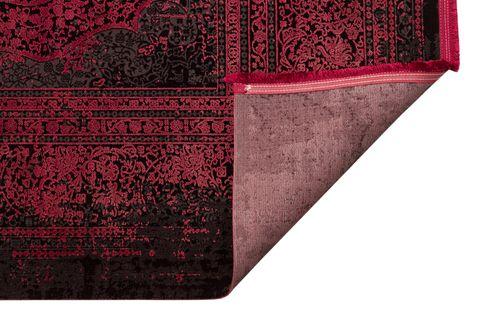 ANADOLU AD 01 ANTRASİT BORDO KLASİK DESENLİ SALON HALISI 80x300