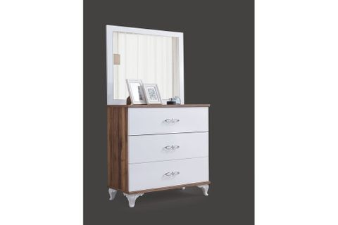 Lofts Chest Of Drawers And Mirror